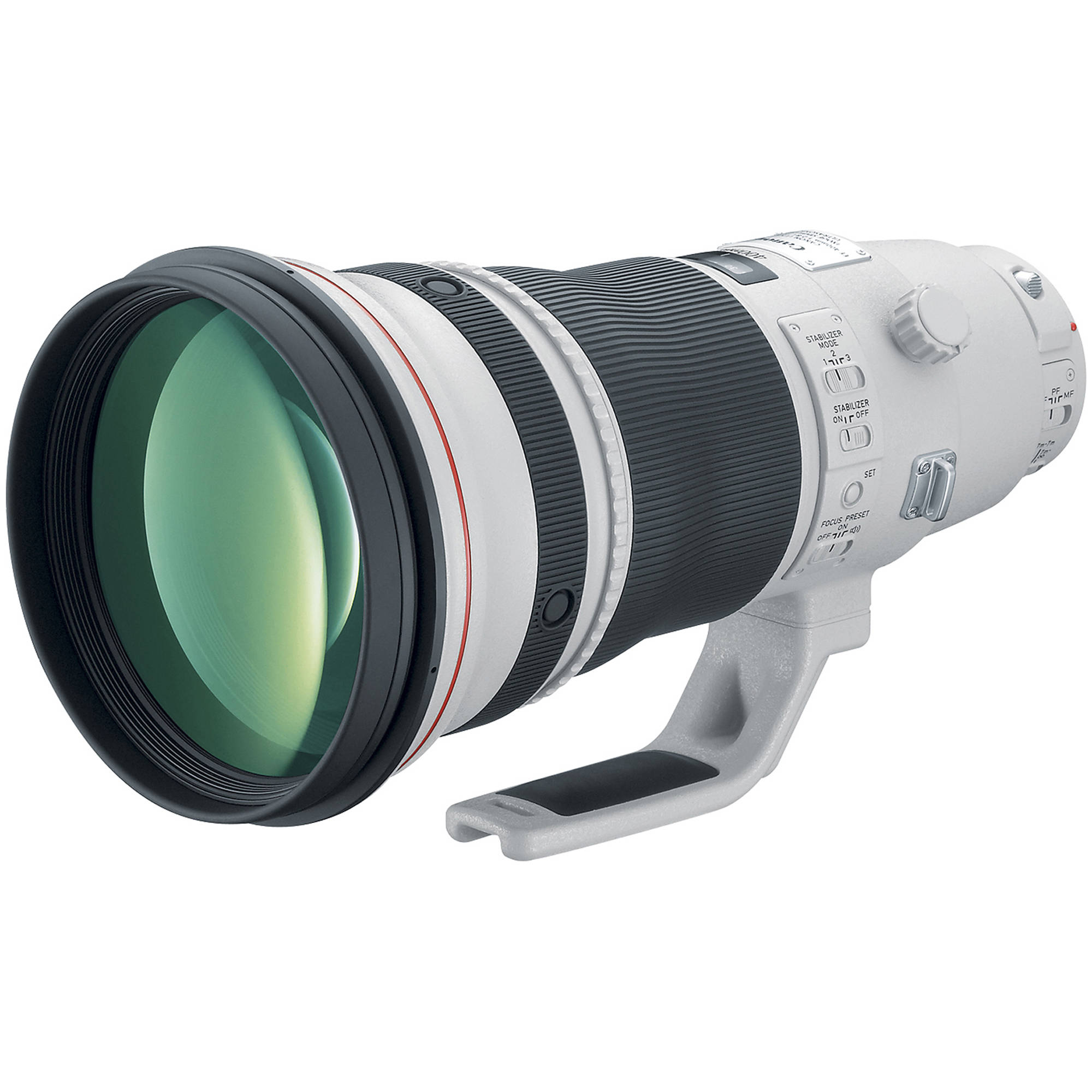 An example Canon EF 400mm f/2.8L IS II used