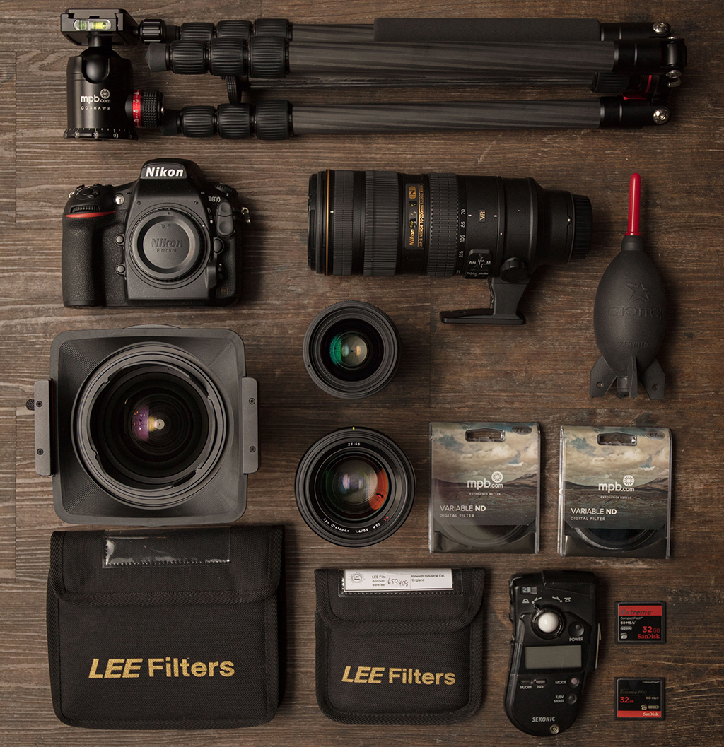 second-hand photo gear