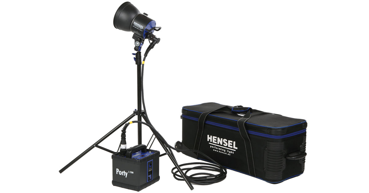 battery-powered strobes