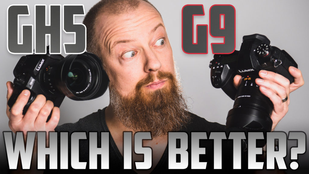 Which Is Better? The Panasonic GH5 or Panasonic G9 PhotoJoseph Hands On Test