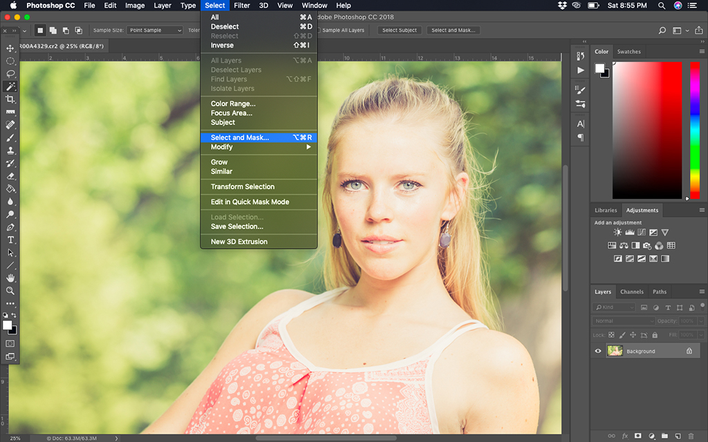 Find A Favorite Selection Tool That's Hidden from Photoshop's Menus