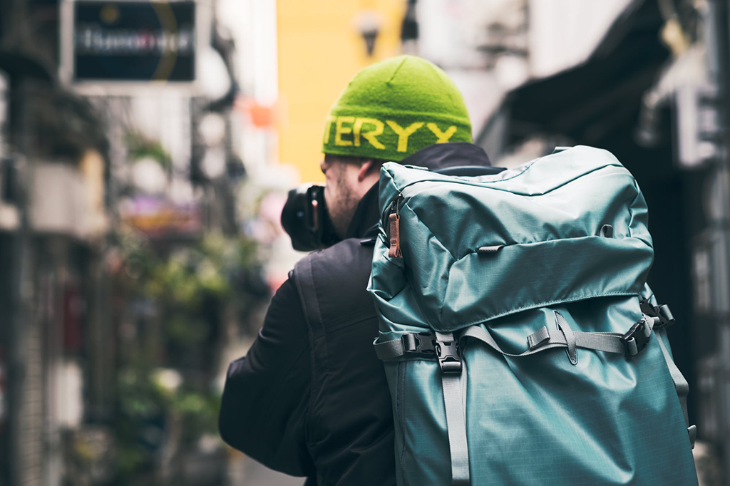 I have preferred camera bags based on the type of outing that I'm on. For the more rugged, outdoor shoots, I prefer using a larger adventure bag. However, if I'm roaming around a crowded city, I'll opt for a slimmer, more inconspicuous messenger bag.