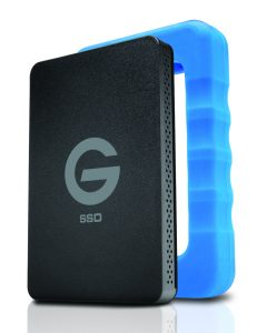 G-Technology G-Drive ev RaW SSD (500GB) | $300 | g-technology.com