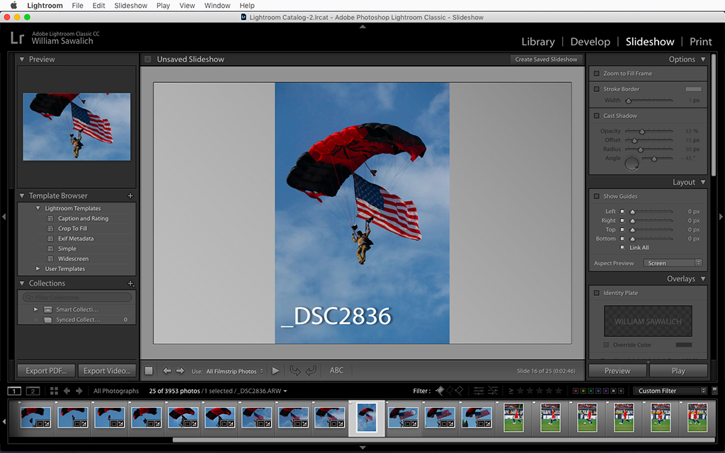 Use Lightroom To Watermark Images With Filenames