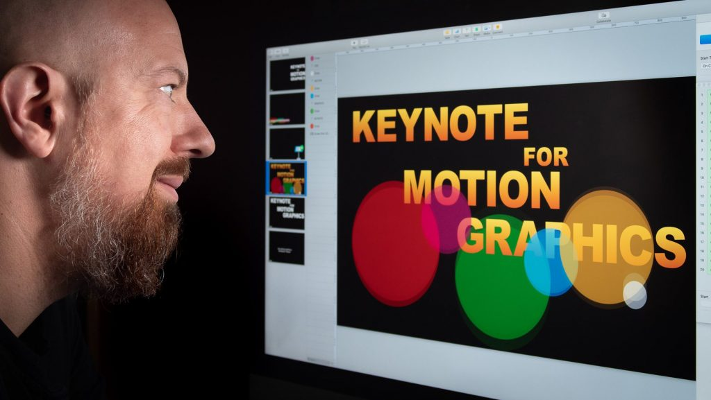 Use Apple Keynote For Video Motion Graphics
