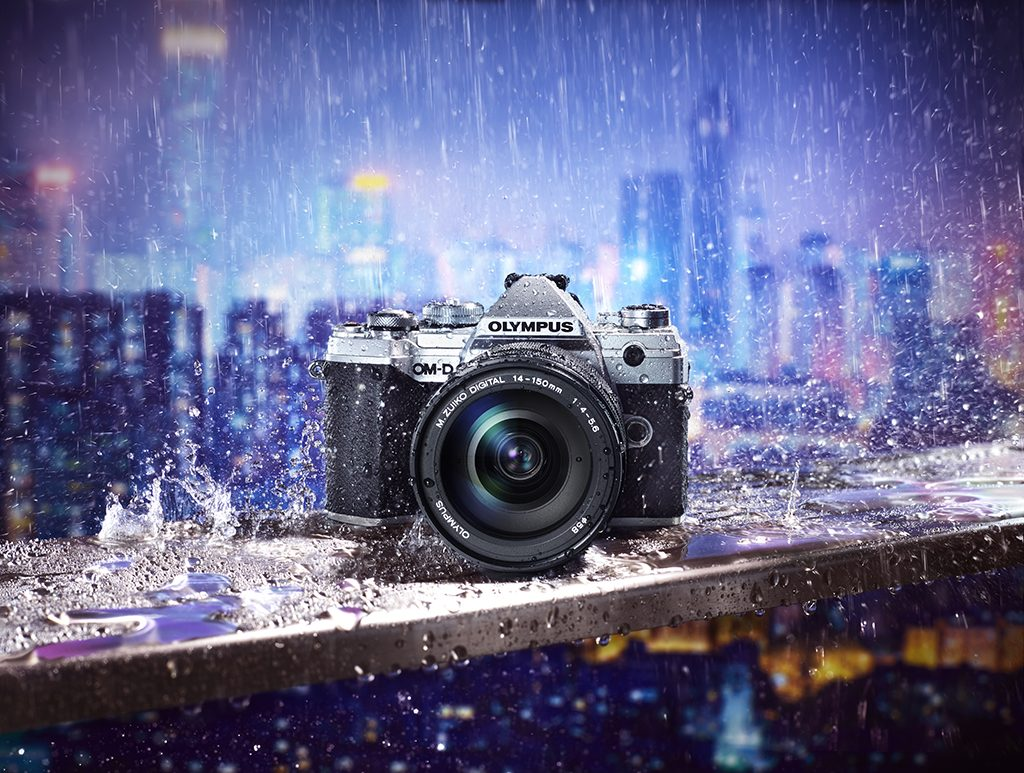 Olympus Unveils New OM-D E-M5 Mark III Mirrorless Camera