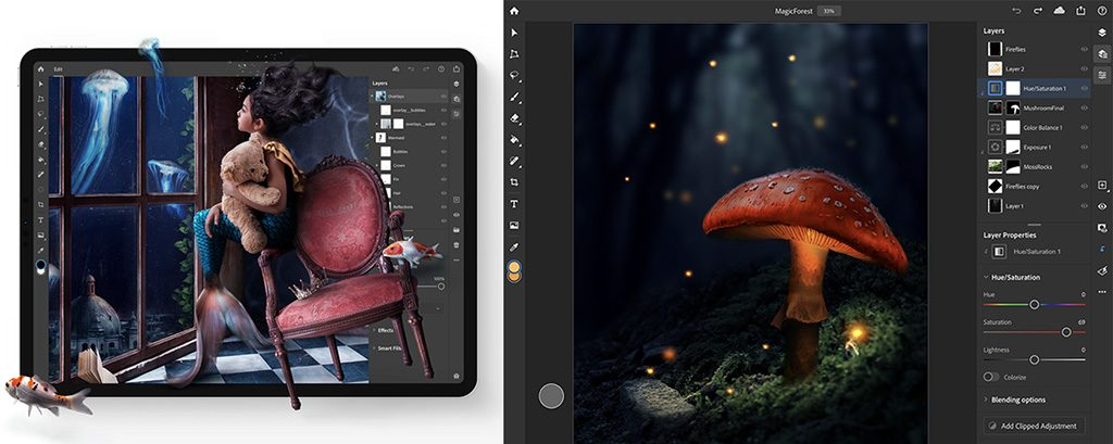 Adobe Announces New Photoshop Camera App, Details On Photoshop On The iPad And More