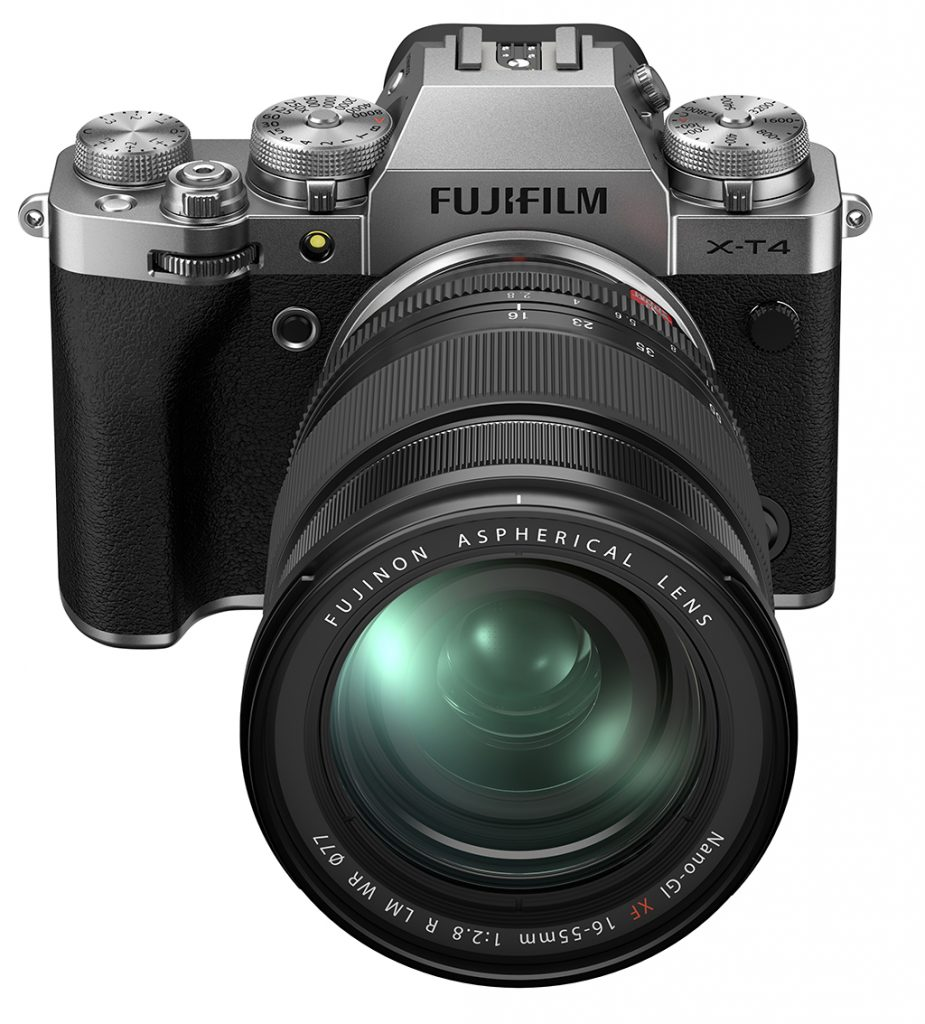 Fujifilm Adds IBIS On New X-T4 Mirrorless Camera