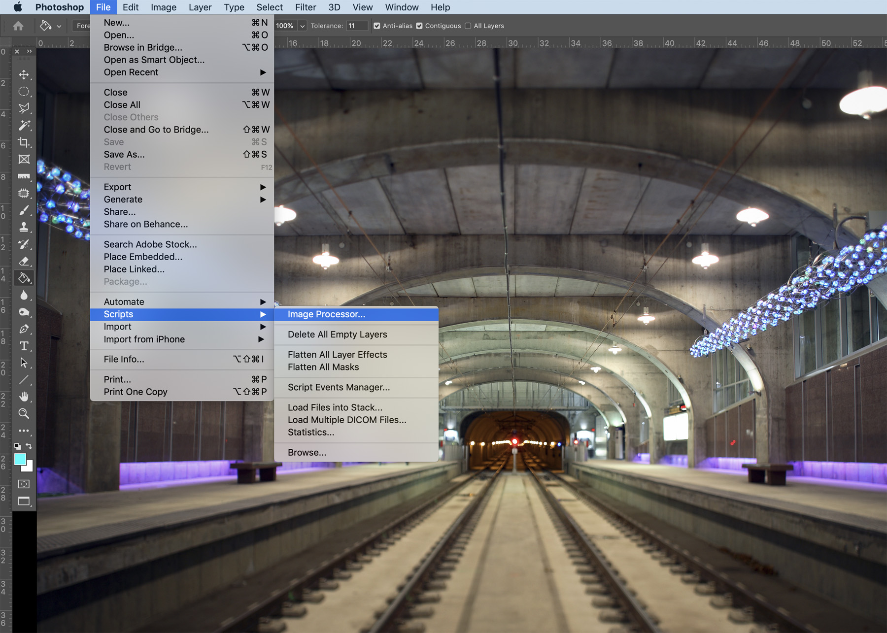 How To Use Photoshop's Image Processor