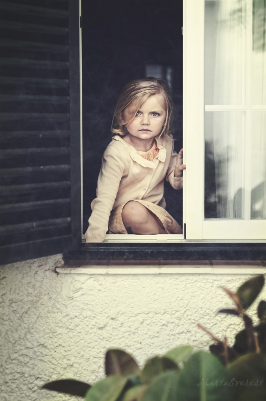 """""""The Girl In The Window"""" by Marta Everest"""
