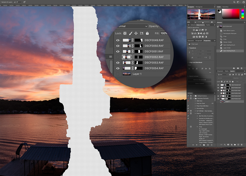 Automatic Panorama Stitching In Photoshop
