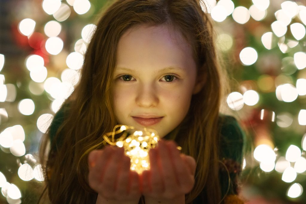 Holiday Light Portraits