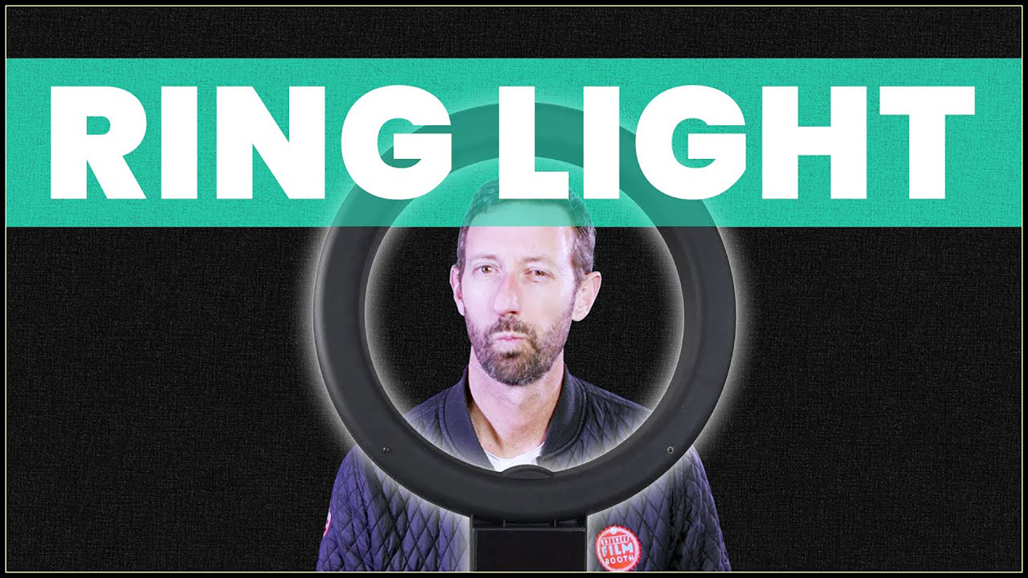 Screenshot from ring light how to video