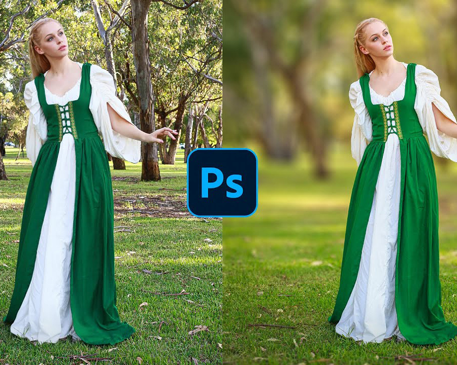 Photoshop for Beginners: How to Blur Backgrounds in Images