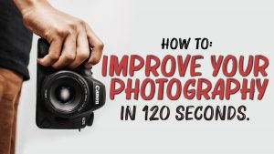 Screen shot of photo tips in two minutes