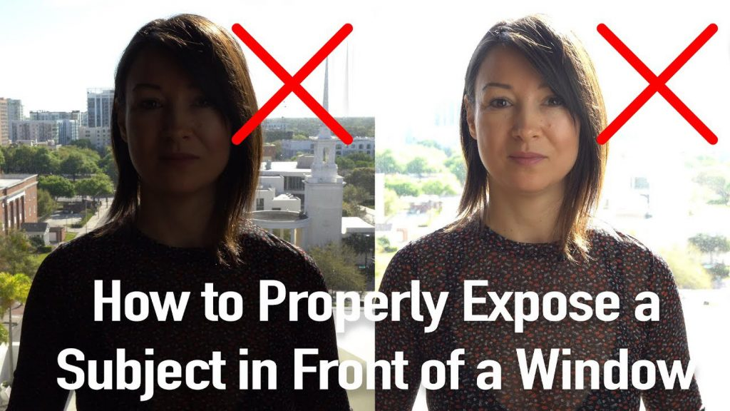 How to Photograph Someone in Front of a Bright Window