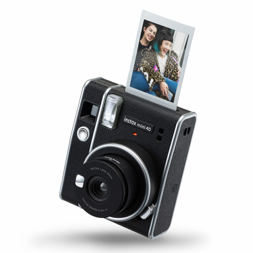 Fujifilm Intros Instax Mini 40 Instant Camera