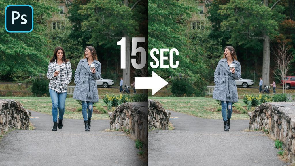 How to Remove People in Photoshop in Seconds