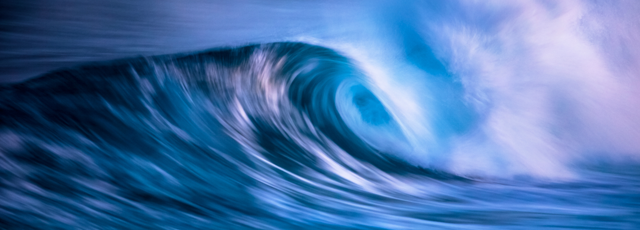 Image of waves, water in motion