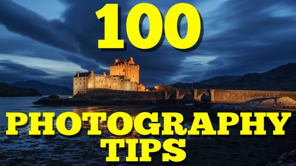100 Handy Photography Tips for Beginners