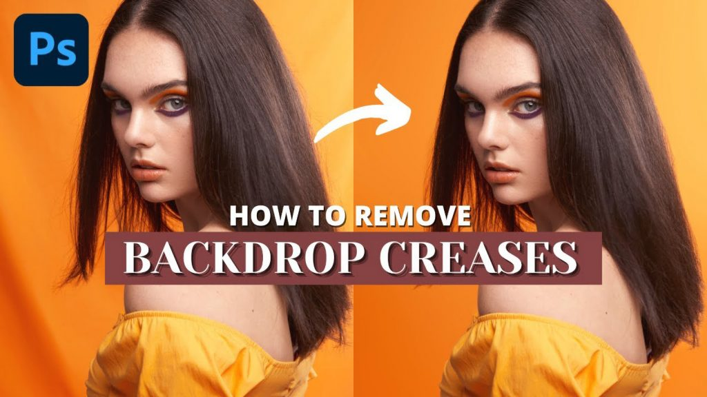 How to Remove Backdrop Wrinkles in Photoshop