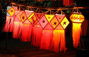 THE COLORS AND TEXTURE OF LANTERNS