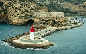port with lighthouse
