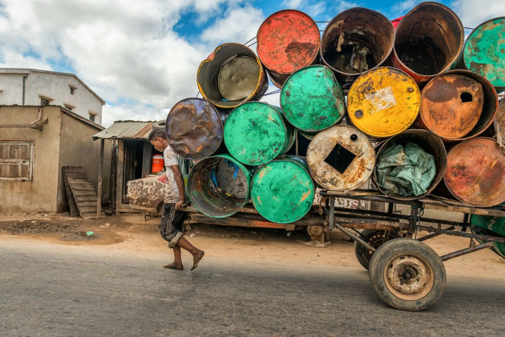 Load of Barrels, Madagascar