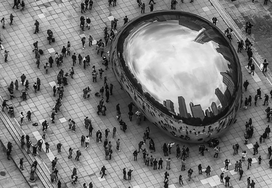 Another View of The Bean