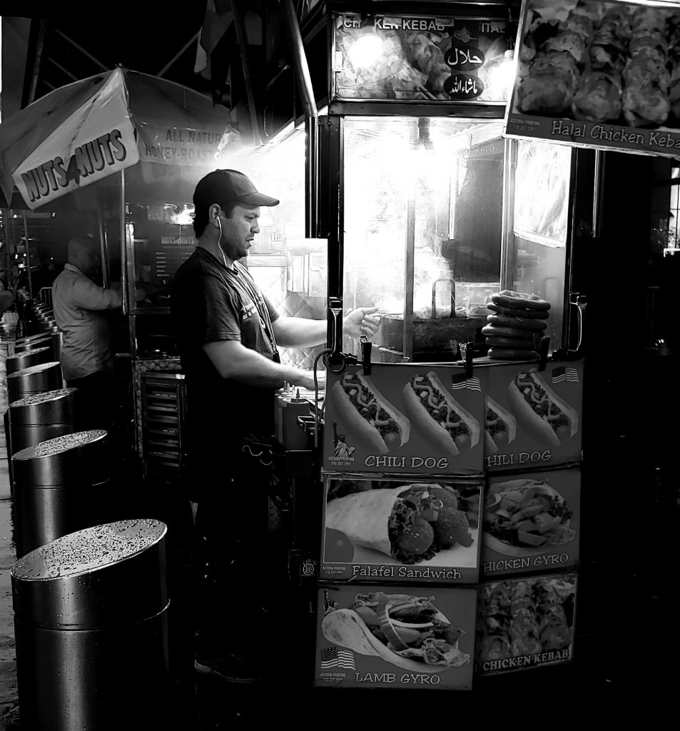 Tough gigs: street vendor NYC