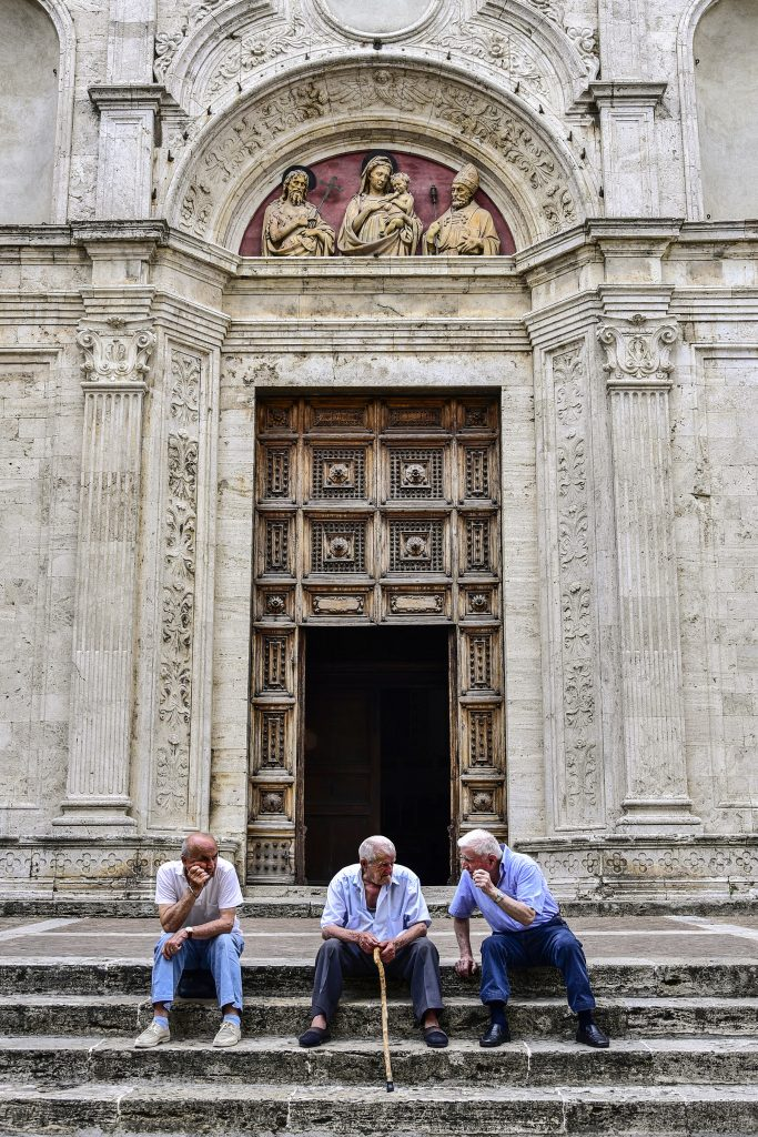 Three Saints, Italy.