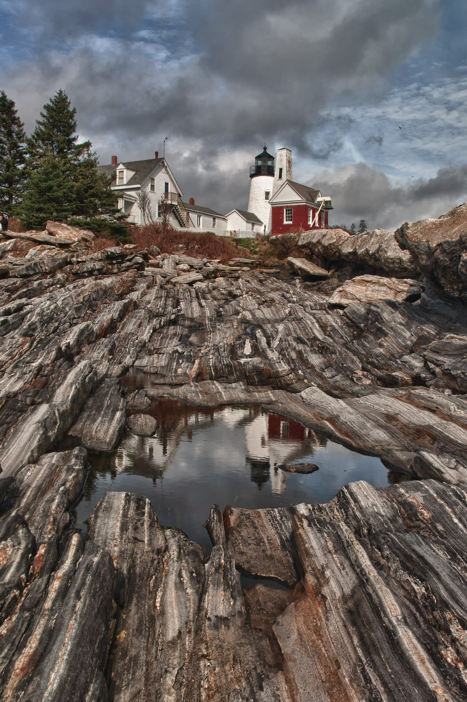 Light House Reflections