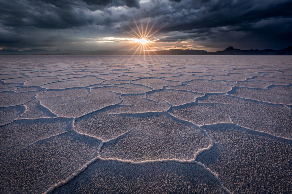 Storm On The Salt Flats