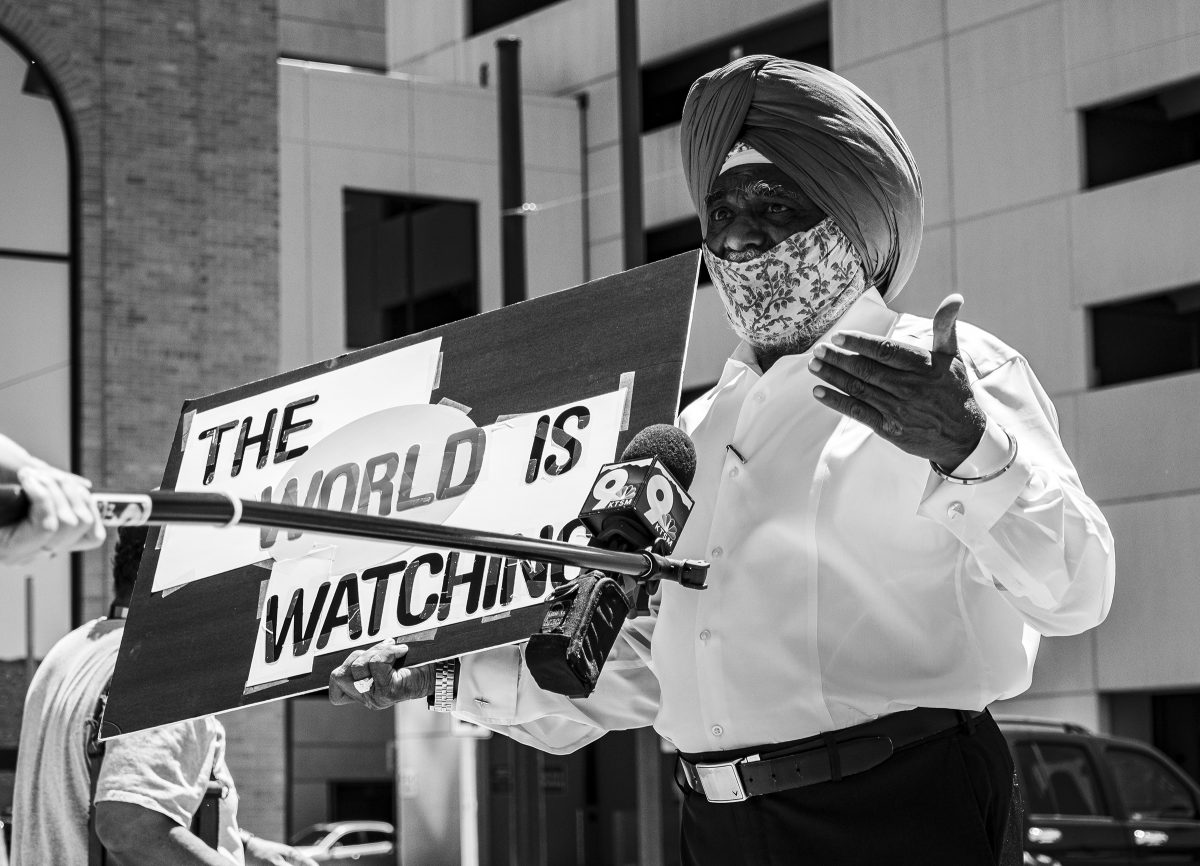 The World Is Watching