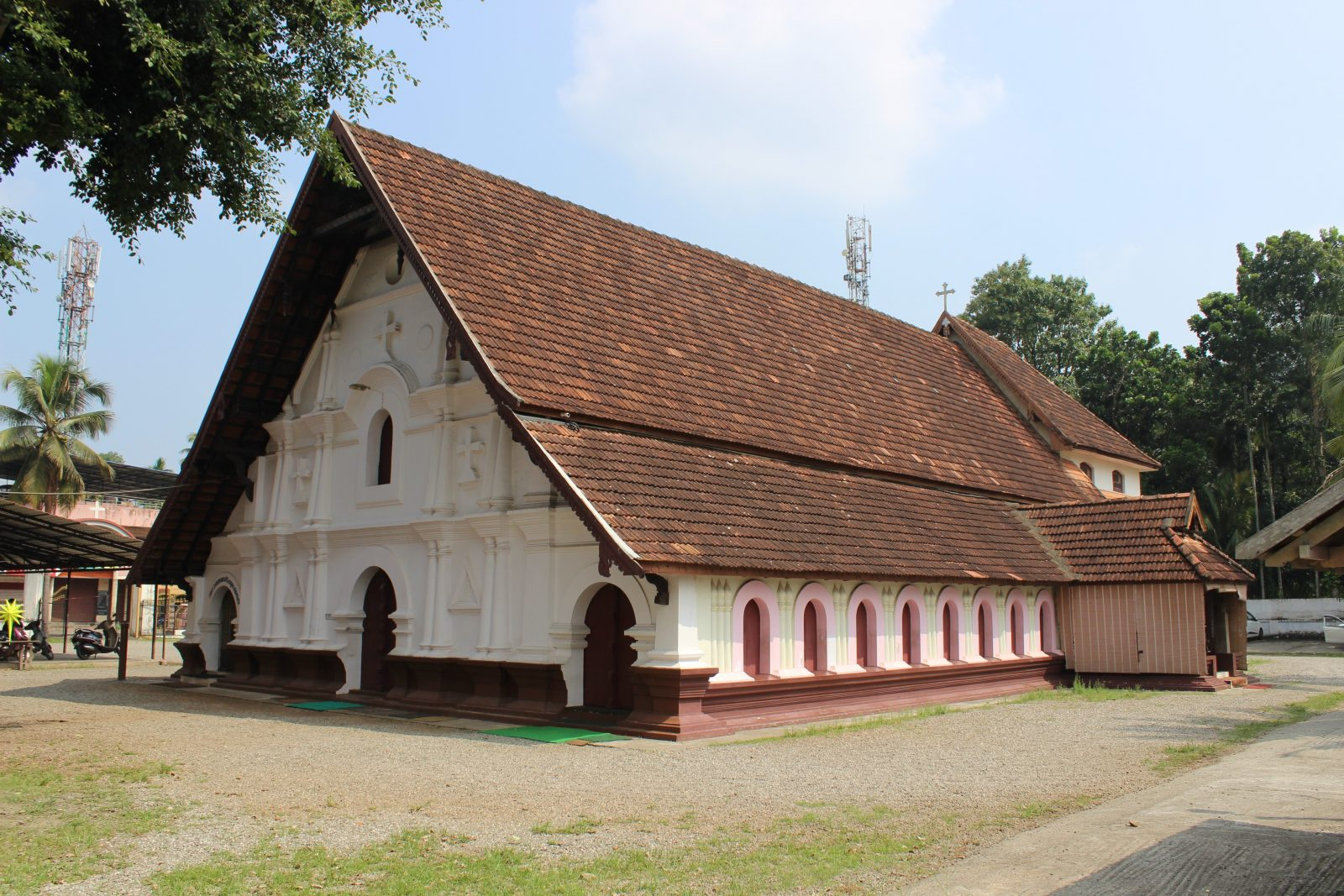 quaint little one-             St Thomas Orthodox Church,  Karthikapally. Kerala, India. More than 1200 years old. Camera used.