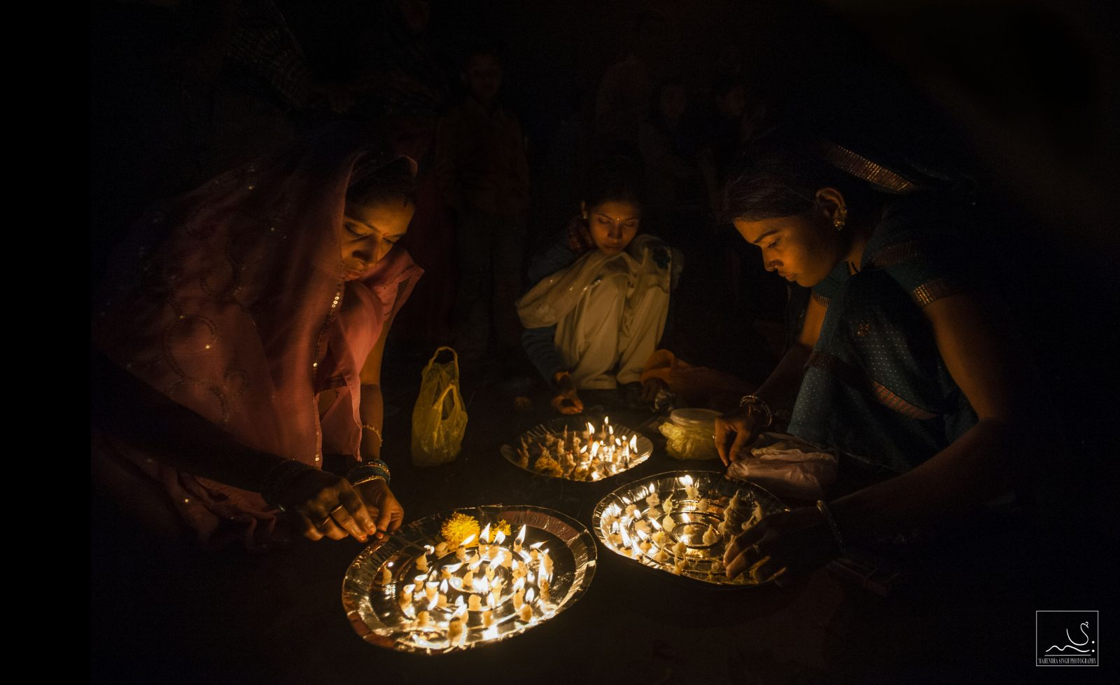 """Diwali celebration,"" by Mahendra Singh Chouhan"