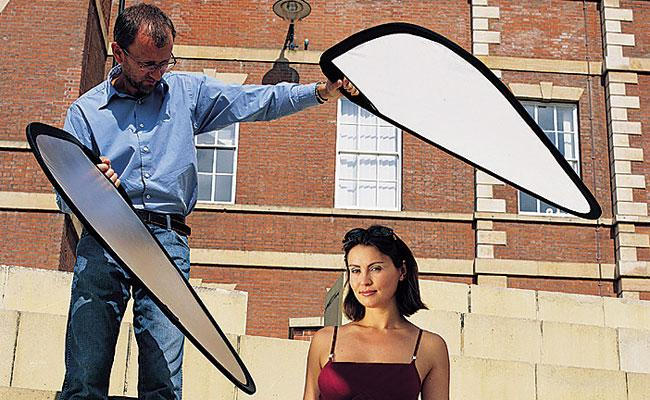 Tools for lighting outdoor portraits digital photo magazine when working with natural light the singular light source of the sun is difficult to control its a large directional light source which means it mozeypictures Image collections